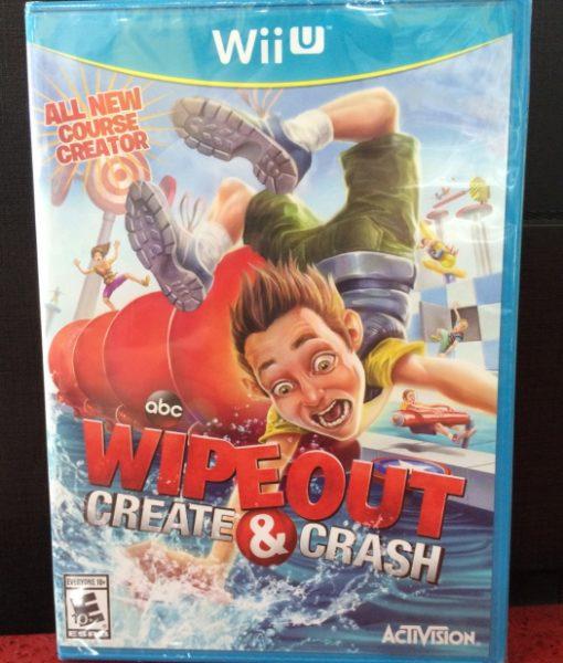 Wii U WipeOut Create and Crash game