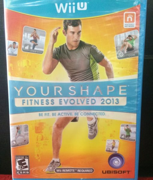 Wii U Your Shape Fitness Evolved 2013 game