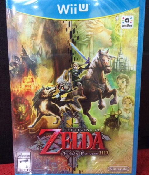Wii U Zelda Twilight Princess HD game