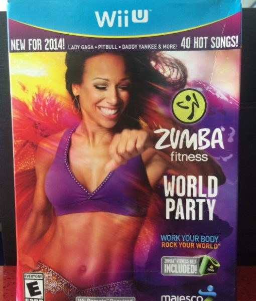 Wii U Zumba World Party game