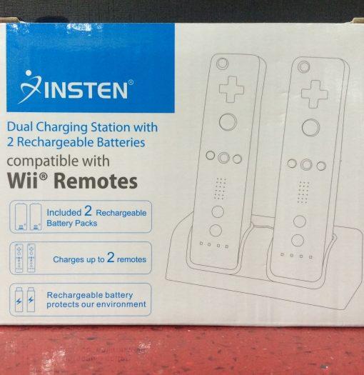 Wii U Charging Station Negro INSTEN