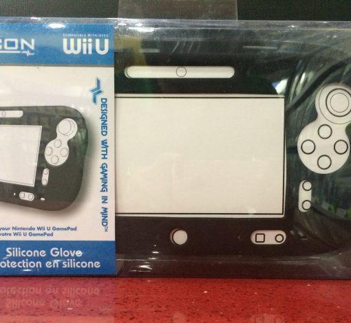 Wii U Silicone Glove Protector Negro i-con