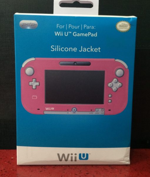 Wii U Silicone Jacket for Gamepad Rosado Pdp