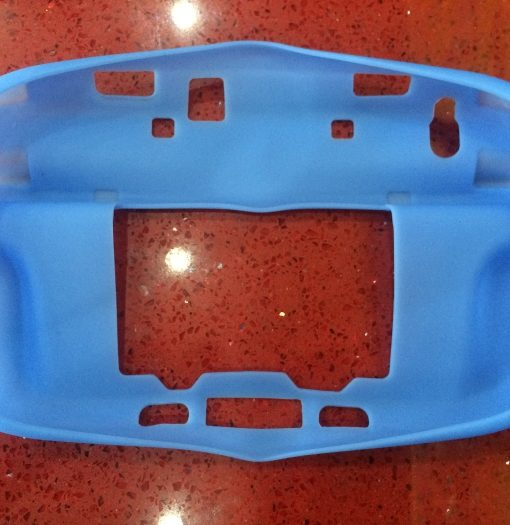 Wii U Silicone Skin Blue for Gamepad HDE