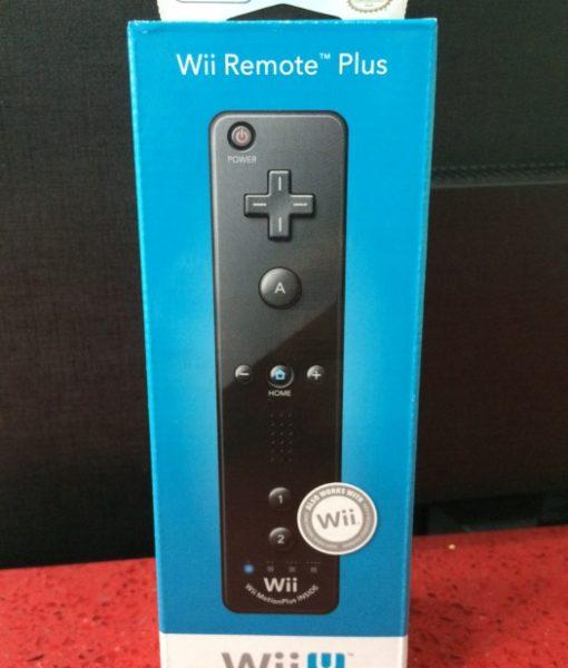 Wii U Wii Remote Plus Negro Nintendo