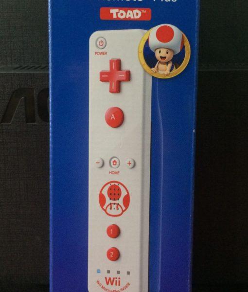 Wii U Wii Remote Plus TOAD Azul Nintendo