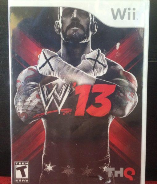 Wii WWE 13 game