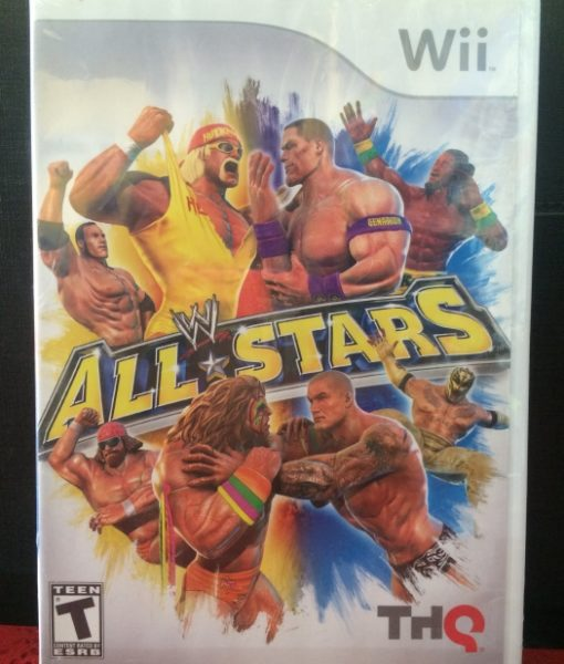 Wii WWE All Stars game