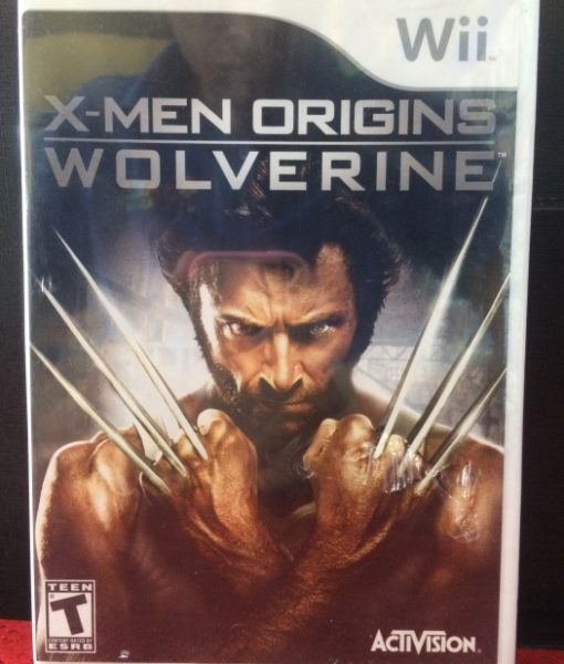 Wii XMen Origins Wolverine game