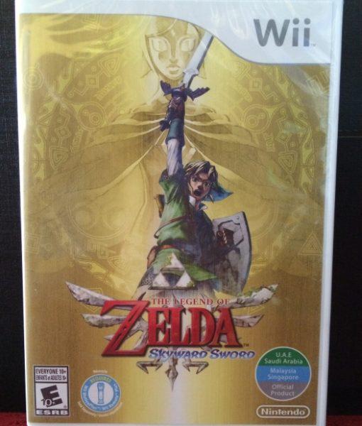 Wii Zelda Skyward Sword game