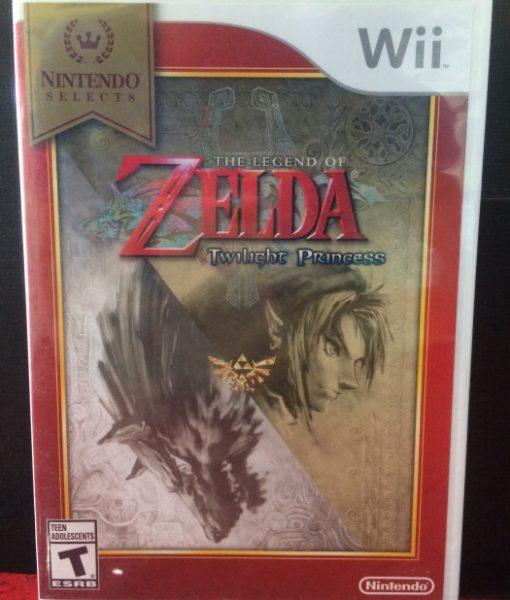 Wii Zelda Twilight Princess game