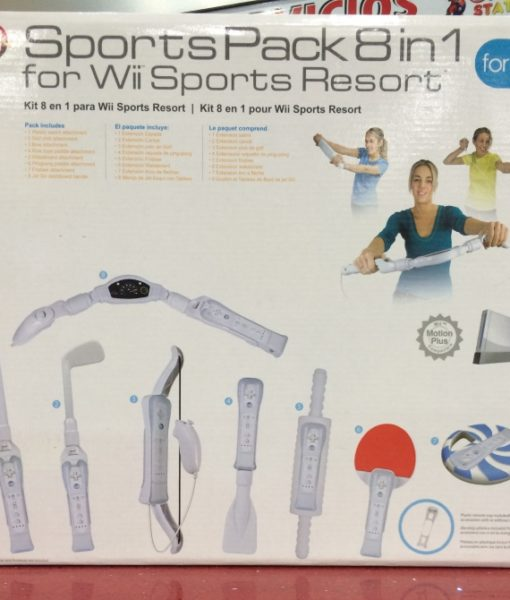 Wii Sports Resort Pack 8in1 White CTA
