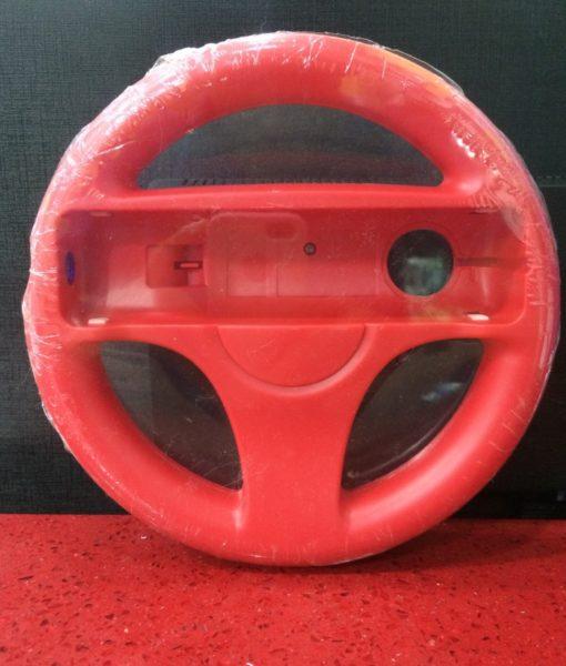 Wii Wheel Timon Rojo Bolsa generico