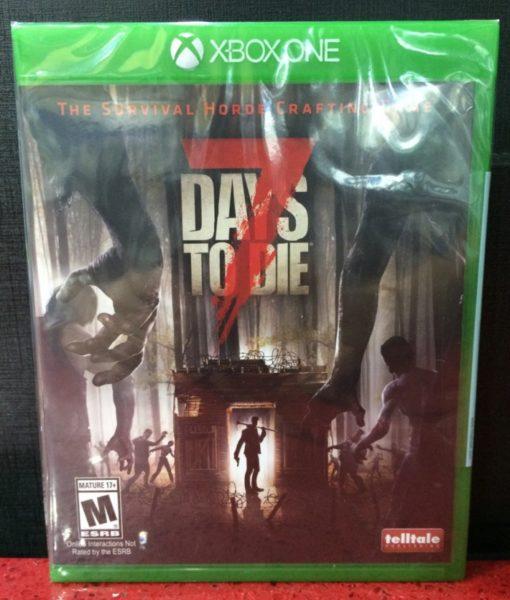 Xone 7 Days to Die game