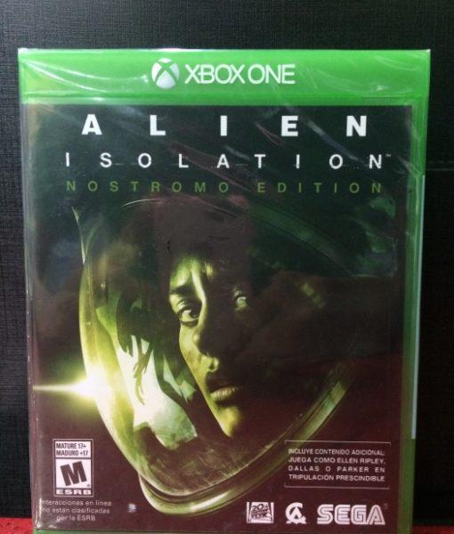 Xone Alien Isolation game