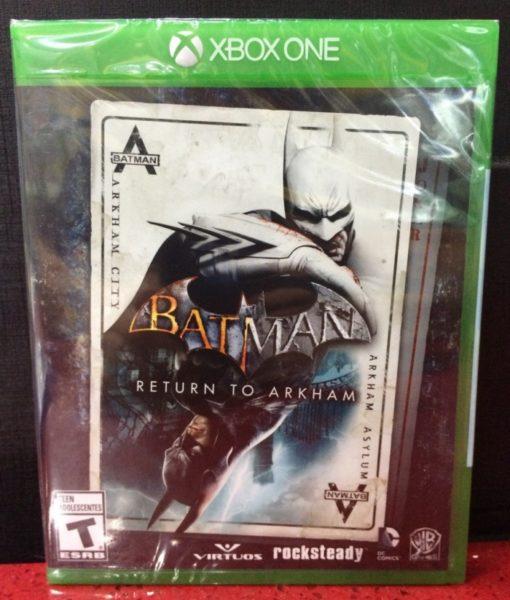Xone Batman Return to Arkham game