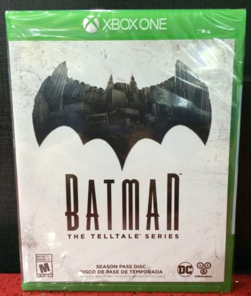 Xone Batman The Telltale Series game