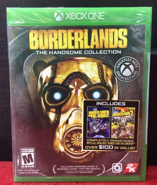 Xone BorderLands Handsome Collection game