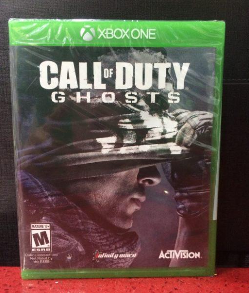 Xone Call of Duty Ghosts game