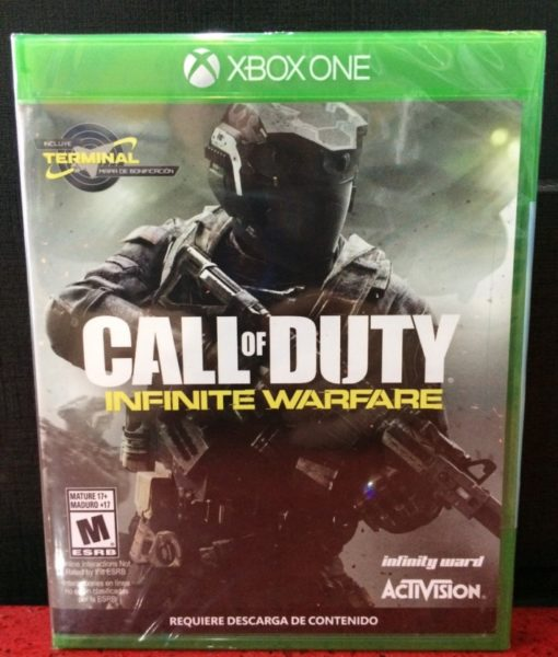 Xone Call of Duty Infinite Warfare game