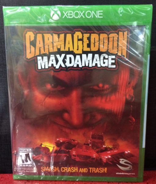 Xone Carmageddon Max Damage game