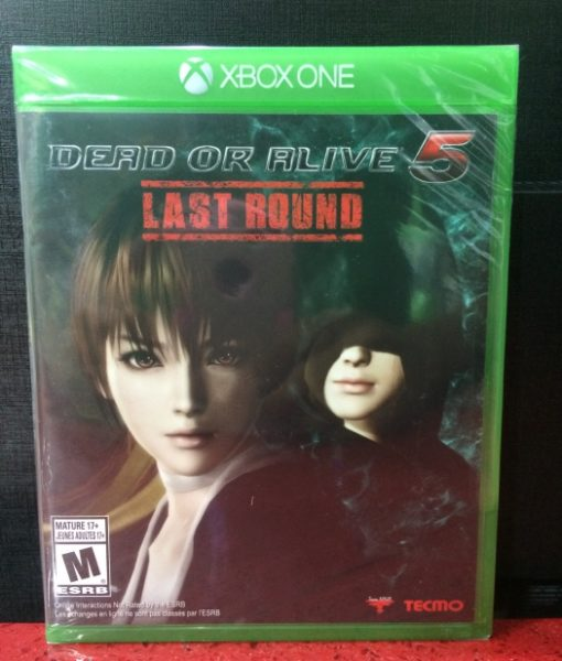 Xone Dead or Alive 5 Last Round game