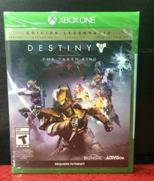 Xone Destiny The Taken King Legendaria game