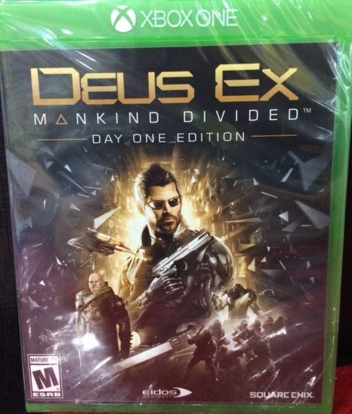 Xone Deus Ex Mankind Divided game
