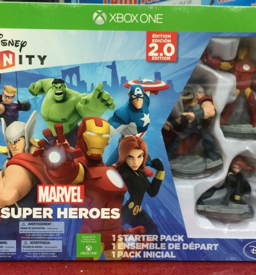Xone Disney Infinity 2.0 Marvel Starter game