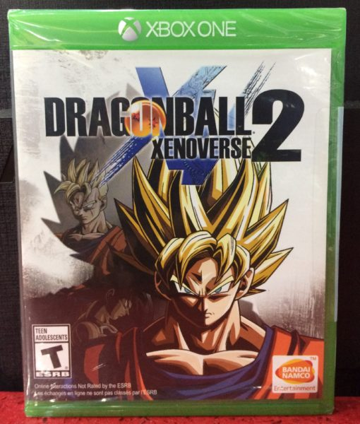 Xone Dragon Ball Xenoverse 2 game