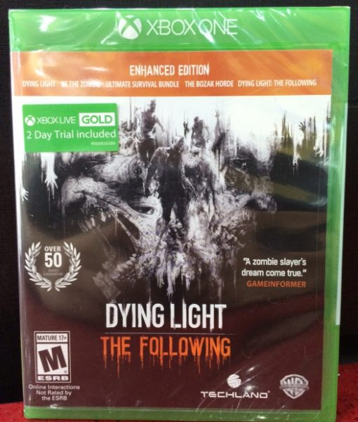 Xone Dying Light The Following game