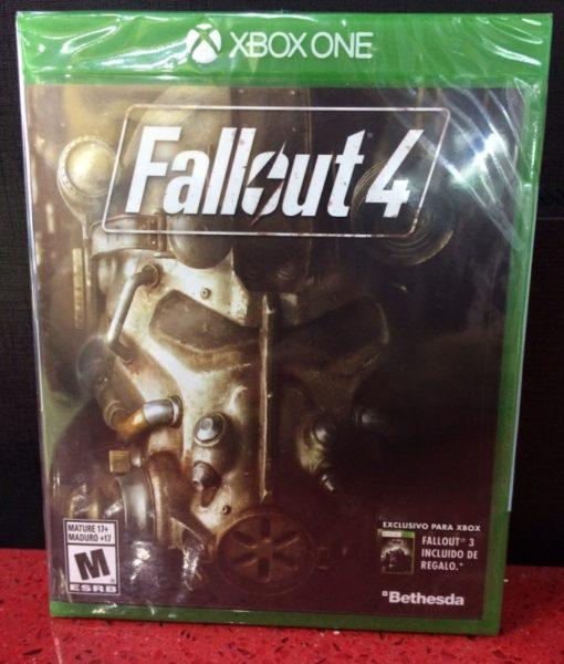 Xone Fallout 4 game