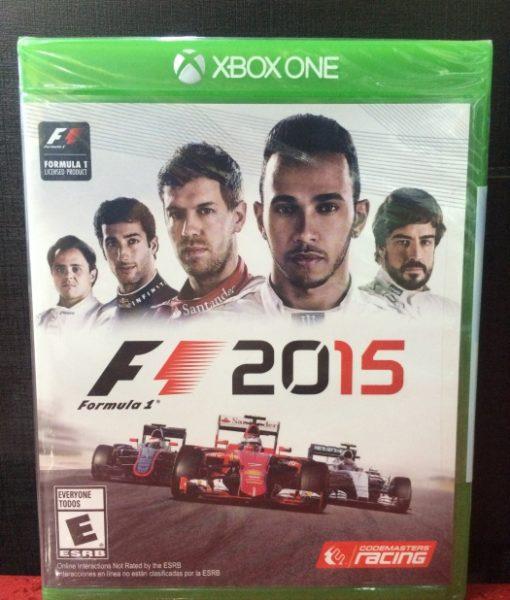 Xone Formula 1 2015 game