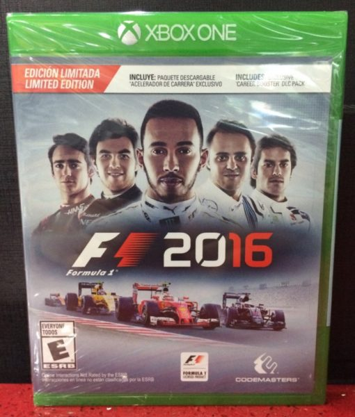 Xone Formula 1 2016 game