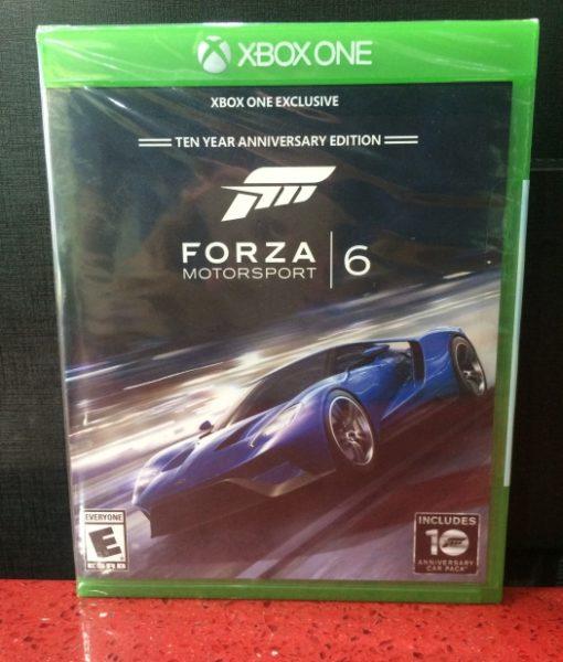 Xone Forza MotorSport 6 game