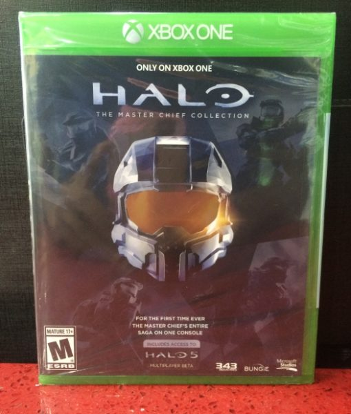 Xone Halo MasterChief Collection game