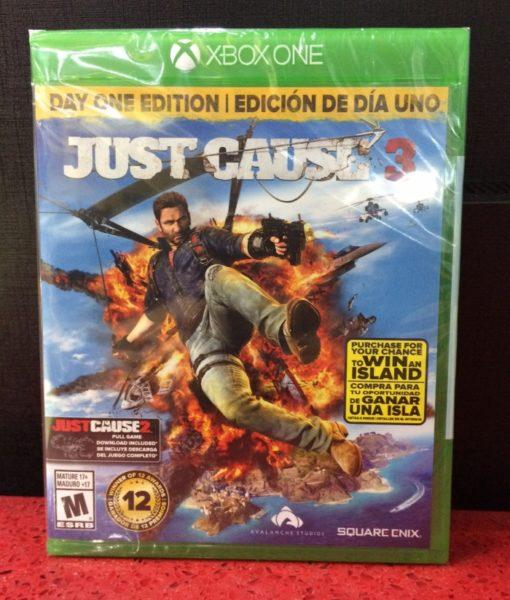 Xone Just Cause 3 game