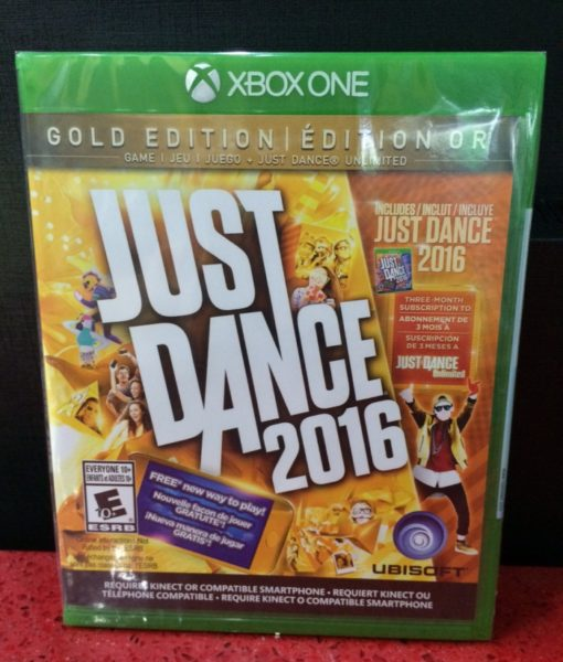 Xone Just Dance 2016 GOLD game