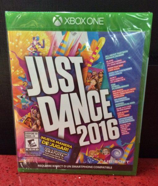 Xone Just Dance 2016 game