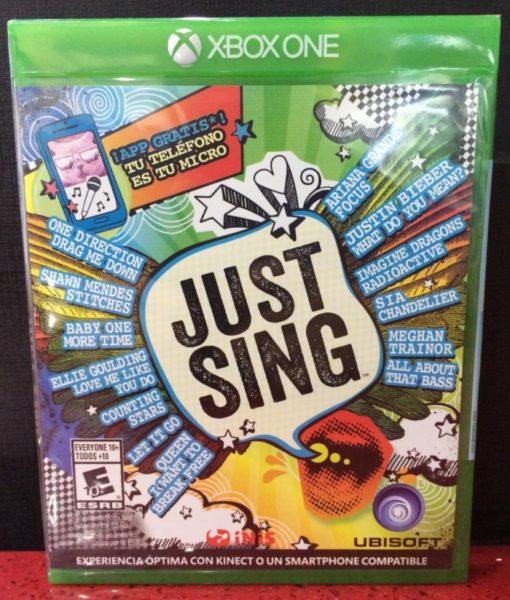 Xone Just Sing game
