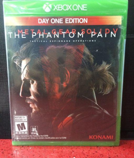 Xone Metal Gear Solid V The Phantom Pain game