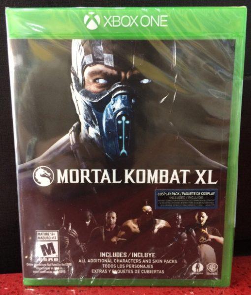 Xone Mortal Kombat XL game
