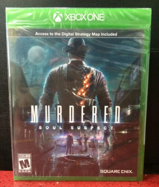 Xone Murdered Soul Suspect game