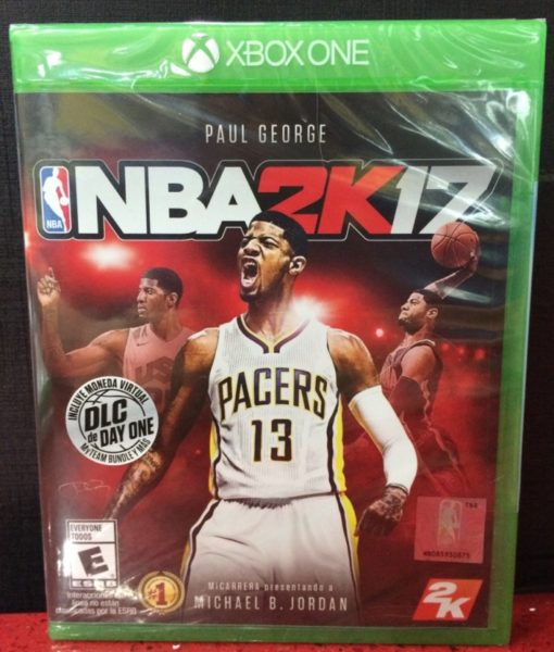 Xone NBA 2K17 game