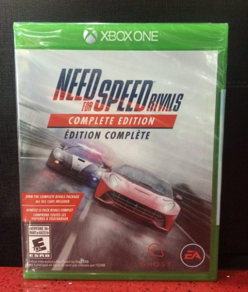 Xone Need for Speed Rivals game