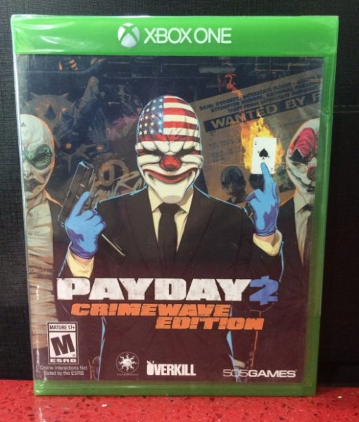 Xone PAYDAY 2 Crimewave Edition game