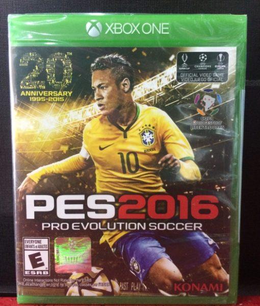 Xone PES 2016 game