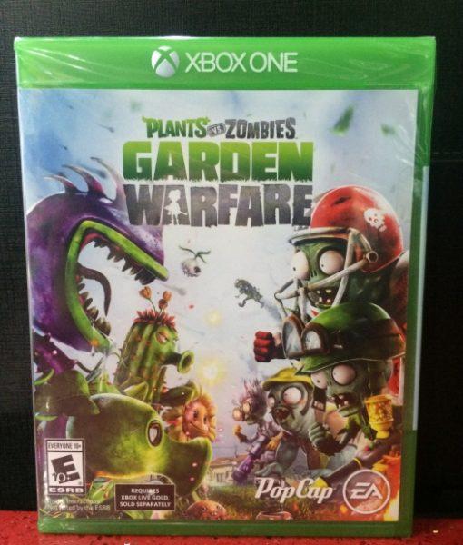 Xone Plants vs Zombies Garden Warfare game