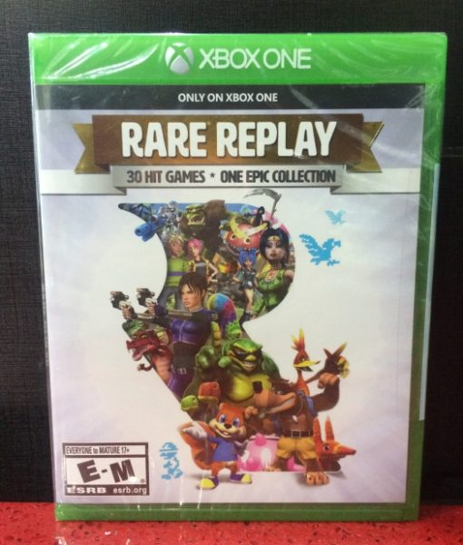 Xone RARE Replay Collection game