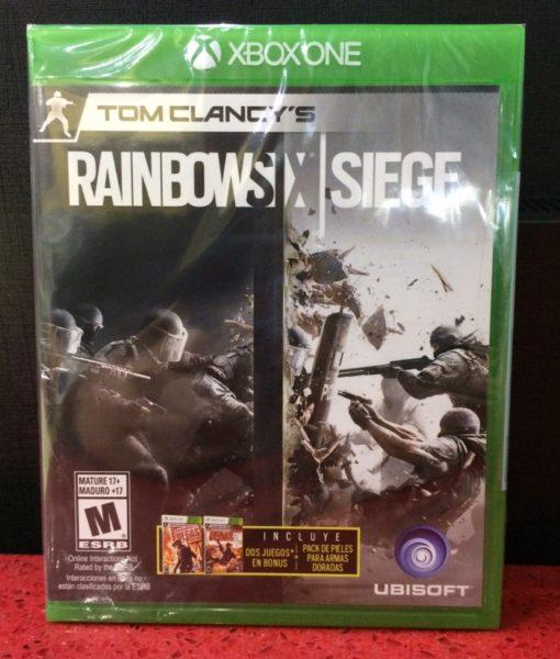Xone Rainbow Six SIEGE game